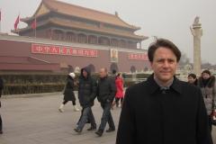 Place Tiananmen Il fait froid!