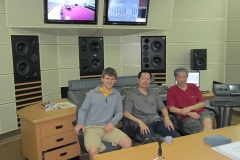 The 3 Musketeers in Control Room.01